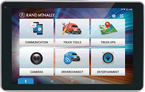Rand McNally OverDryve 8 Pro 8in Truck GPS Tablet with Dash Cam and Bluetooth