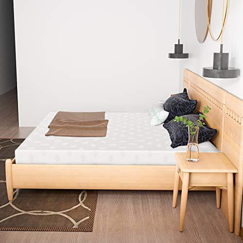 Kono Small Double Mattress, Memory Foam Mattress, 4FT Small Double Comfort Rolled Foam Mattress 11cm Depth Medium Soft, Small Double(120 x 190 cm)