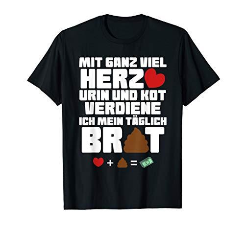 Lustiges Altenpfleger/in Krankenschwester T-Shirt Geschenk