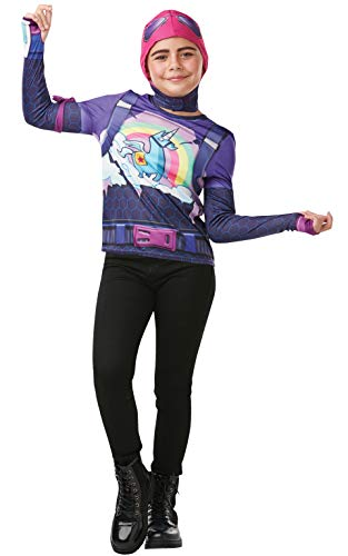 Fortnite - Disfraz Brite Bomber para niño, camiseta, 11-12 años (Rubies 300197-TE)