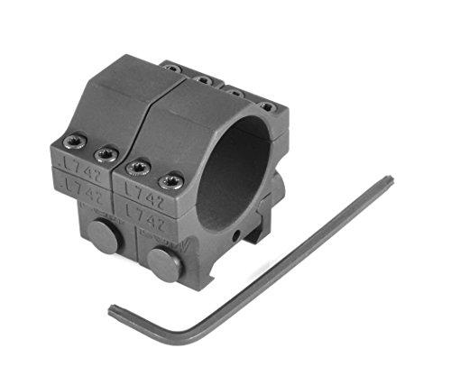 Evolution Gun Works HD Tactical Aluminum Rings, 30mm diam.850IN. High, 61100