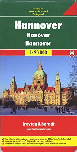 Hannover: 1:20000 (freytag & berndt Stadtpläne, Band 137)