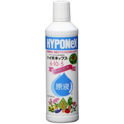 ハイポネックスジャパン ハイポネックス原液6-10-5 450ml