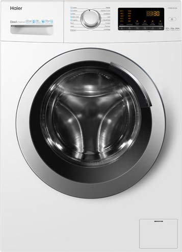 Haier HW100-SB1230, Waschmaschine 10 kg A+++-40%, Dampfoption, ABT Antibakterielle Behandlung, freie Installation