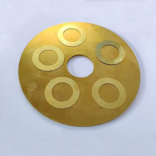 Lysee Overseas parallel import regular item Home - 20pcs M14 ultra-thin flat was washers gaskets brass At the price of surprise