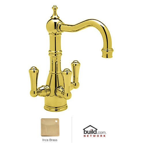 Why Choose Rohl U.1474LS-IB-2 Perrin and Rowe Collection Triflow Technology Filtration 3-Lever Bar F...