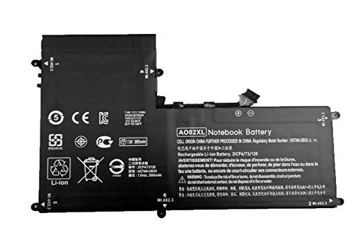 7XINbox 31Wh 7.6V 3995mAh AO02XL Ersatzakku für HP ElitePad 1000 G2 HSTNN-LB5O HSTNN-UB5O 728250-421 72558-005 728250-1C1 Serie