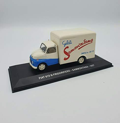 Die Cast Modellino Fiat 615 N Frigorifero - Sammontana - 1957 S002.