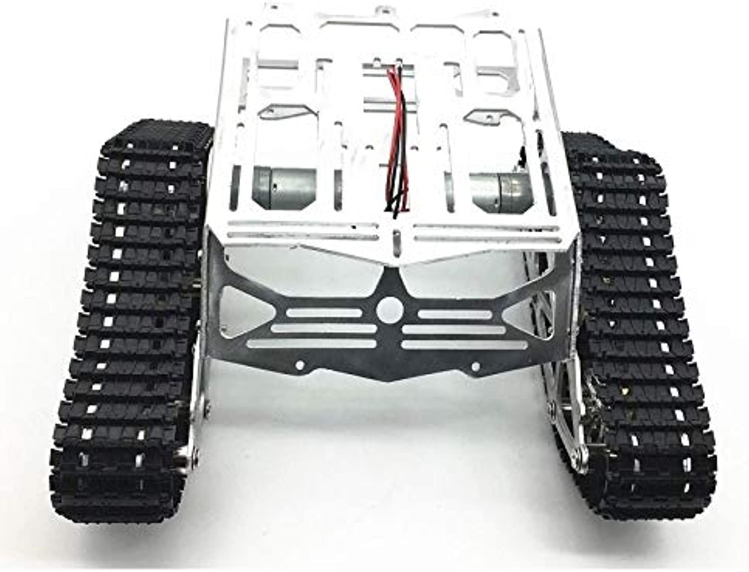 Generic Domibot DIY Smart Robot Tank Chassis Kit RC Tracked Car with Crawler Kit for Arduino