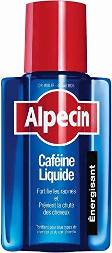 Alpecin Caféine Liquide Lotion cheveux homme 1x 200ml   Traitement anti chute de cheveux homme   Perte de cheveux traitement calvitie   Renforcement de la racine des cheveux