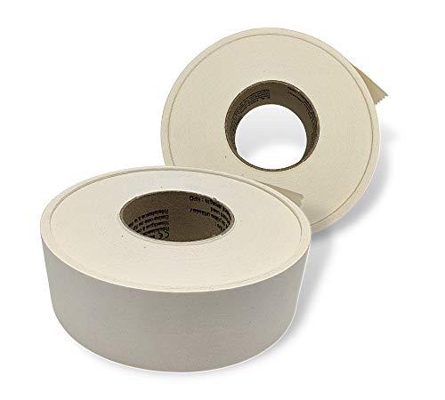 DOJA Industrial | Fugenband Selbstklebend 150M | Eckschiene Trockenbau Werkzeug Bänder für Gipskarton Platten | Rigips Kantenschutz Papier Tape | Fugendeckstreifen Band | Fugen-Klebeband