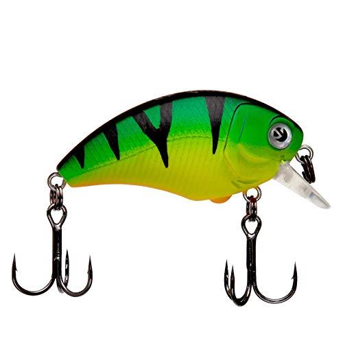 Zeck Danny 4,5cm - Wobbler schwimmend, Zeck Farbe:Firetiger, Tauchtiefe/Gewicht:0.6m / 5.3g