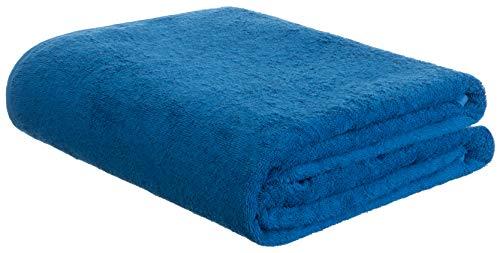 Brandsseller Frottierdecke Sommerdecke Picknickdecke Wohndecke 100% Baumwolle 150 x 200 cm Blau