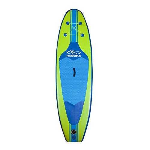 HUDORA Stand-Up Paddle Board Glide SUP 285 cm, aufblasbar, lime/blau, Stand-Up Paddel Board