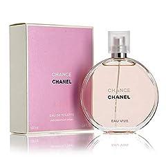 Idea Regalo - Chanel Chance Eau Vive Eau de Toilette Spray 100 ml