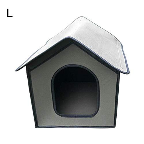 Casetas para perros plegables para exteriores, casa portátil para perros al aire...