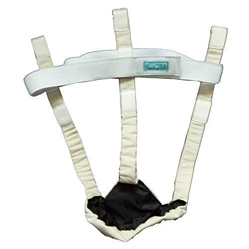 Jockstrap de suspensión para apoyo escrotal/testículo, ajuste de cintura de 1 a 180 cm