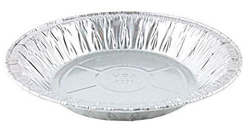 Handi-Foil 6' Aluminum Foil Pie Pan 50/Pk - Disposable Small Baking Tin Plate (Pack of 50)