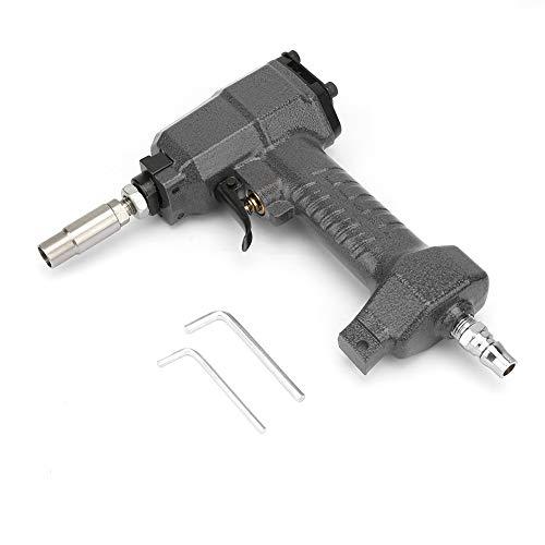 Pistola neumática de tachuelas 1170 Pistola de clavos ligera Ajuste de profundidad sin herramientas para acabado de recorte neumático