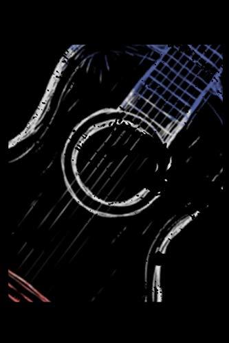 Notebook: A5 Tabulatur Block mit leeren Tabulaturlinien - 120 Seiten Tab Notizbuch perfekt als Notenbuch oder Notenheft, passendes Geschenk für Gitarristen, Gitarrenspieler und Musiker!