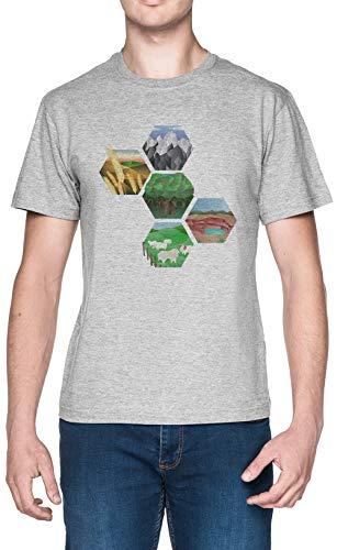 Ingenioso Blanca Hombre Camiseta Grey Men's T-Shirt tee