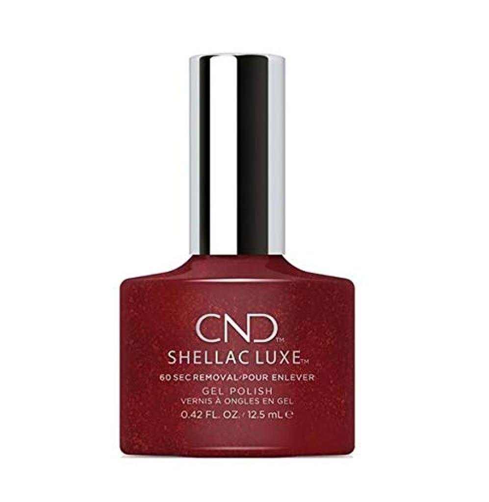 回復するマザーランドちょうつがいCND Shellac Luxe - Dark Lava - 12.5 ml / 0.42 oz