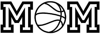 Creative Concepts Ideas Basketball Mom CCI Decal Vinyl Sticker|Cars Trucks Vans Walls Laptop|White|7.0 x 2.5 in|CCI2381