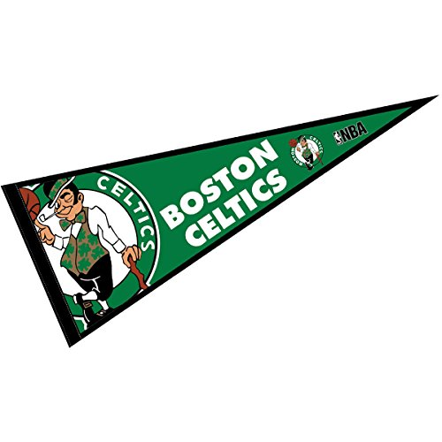 WinCraft Boston Celtics Pennant Full Size 12' X 30'
