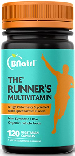 The Runner's Multivitamin-an Organic High Performance Multivitamin Made Specifically for Runners, 2 Months Supply
