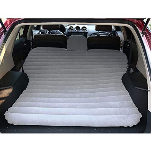 Sinbide SUV Materasso Auto Gonfiabile Sedile da Viaggio per SUV/MVP/Limousine, materassino per Auto da Viaggio, ECC. (Grigio)