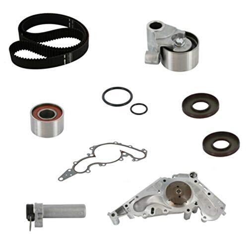 Sz Machparts Engine Timing Belt Kit with Water Pump TKT-021 Fit for 1998-2004 Lexus GX470 LX470 Toyota 4Runner, Land Cruiser, Sequoia, Tundra 4.7L