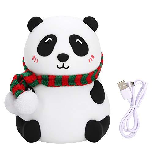 Acouto Luz Nocturna, Mini LED con Forma de Animal 7 Colores luz Nocturna Carga USB para habitación de niños Sala de Estar Dormitorio decoración(#2)