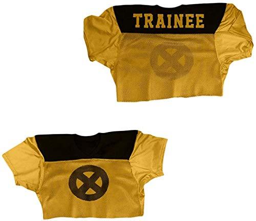 Wade Wilson Mutant Trainee Stitch Jersey Stitch XS-2XL Halloween Shirt (54) Yellow