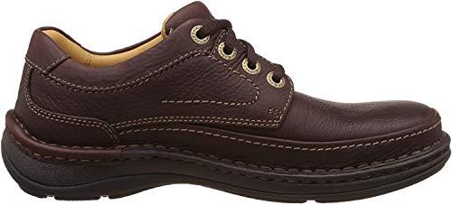 Clarks, Nature Three Derbys Herren-Schuhe, Braun - braun - Größe: 42 EU