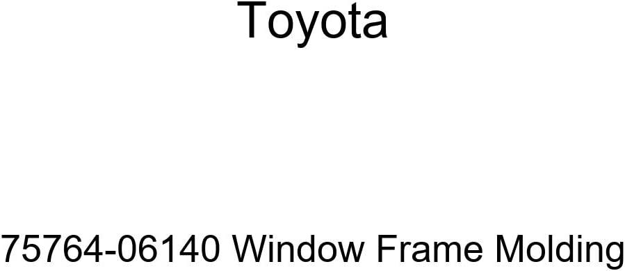 TOYOTA Genuine Free shipping Louisville-Jefferson County Mall 75764-06140 Molding Window Frame
