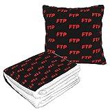 Red FTP レッドFTP 両用抱き枕 ブランケット シングル ひざ掛け 暖かい 毛布 クッション かわいい 折りたたみ 洗える 収納便利 多機能 車/旅行/飛行機/自宅/クリエイティブ ギフト