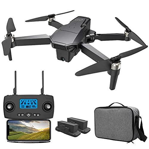 J-Clock Trasmissione GPS Drone 5G WiFi FPV, Drone con Doppia Fotocamera 4K per Adulti, con Motore Brushless, Distanza Controllo 1500M, Trasmissione Immagini 1200M, Supporto Esperienza VR 3D