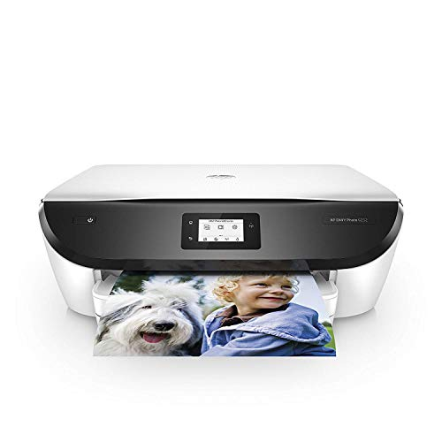 HP ENVY Photo 6252 Wireless All-in-One Printer, Instant Ink Eligible, Works with Alexa - White (K7G22A)