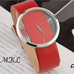 Red Beautiful trendy Ladies Watch Holo Style (Red)