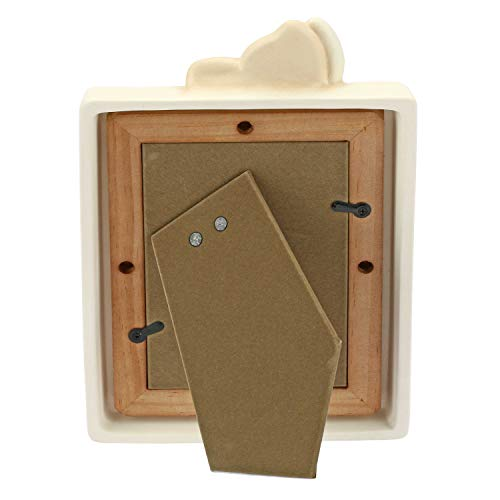 THUN - Portafoto Medio - Idea Regalo, Accessori Casa - Linea Elegance - Ceramica - Formato Foto 9,5x14 cm