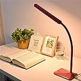 Lámparas de mesa DKEE Protección de los ojos Lámpara de escritorio LED de 5 niveles Dimmer y Colortouch Control Flexible Cuello de cuello de cuello de noche Lectura de la mesa de la oficina de la ofic