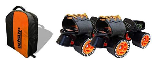 Jaspo Big Boss Adjustable Quad Roller Skates Suitable for Age Group 6 -14 Years Old