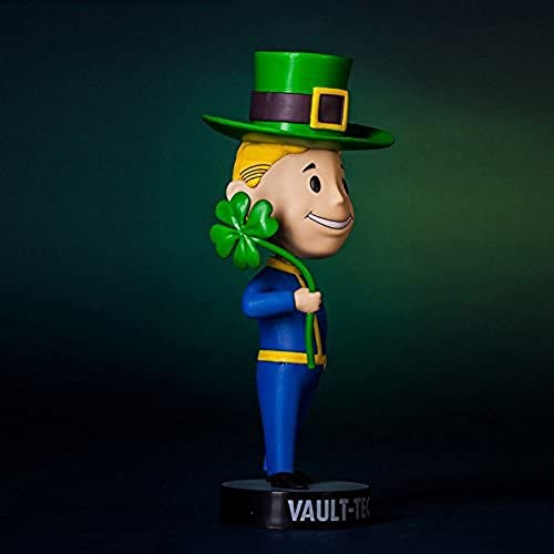 Fallout 3  Vault Tec Pip Boy Luck Bobblehead Figure Toy - 5 by Fallout