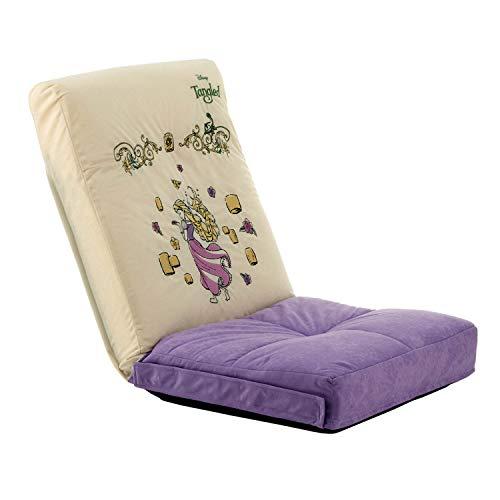 [ベルメゾン] ディズニー 座椅子 14段階 リクライニング 完成品 連結できる ラプンツェル