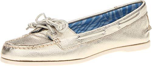 Sperry Audrey Platinum Leather 7