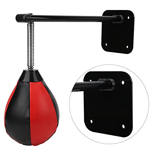 Qirg Bolsa Colgante de Entrenamiento de Velocidad, Bolsa de Boxeo Resistente para Oficina para el hogar