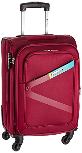 Safari Polyester 54.5 cms Red Softsided Carry-On (Greater)