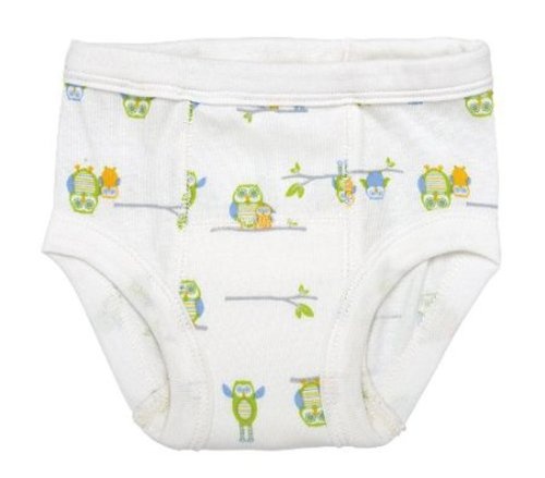 Under The Nile Apparel Under The Nile Egyptian Organic Cotton Owl Print Training Pants, 2-4 Years (26-36 lbs) by Under The Nile