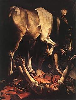 Singing Palette 8 Dipinti Famosi - €40-€1500 Pittura a Olio a Mano da pittori accademici - Conversion on The Way to Damasc...