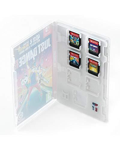 Numskull Nintendo Switch Game Card Cartridge und SD-Speicherkartenhalter, passt in die Nintendo Switch Retail Game Box, fasst 14 Spiele und 4 microSD-Karten